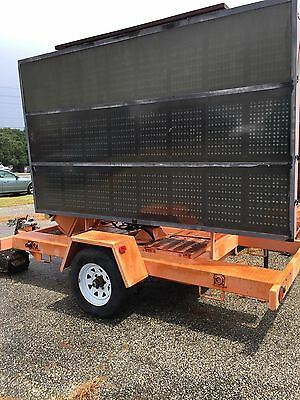 Ver-Mac Pcms1210  Portable Led Message Board Road Sign  W/o Battery (Cnx)