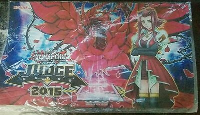 Black Rose Dragon Akiza Game Mat Yu-Gi-Oh! Judge 2015 Travel Assistance Playmat