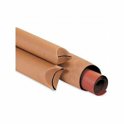 Box Packaging Crimped End Mailing Tube, 50 Tubes/Case