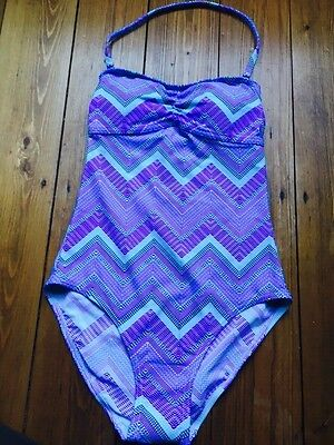 SS57 Ex M*S Swim to Gym Secret Slimming™ Swimsuit Size 10-24