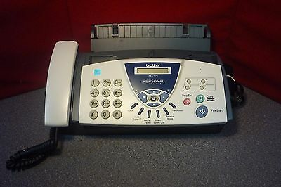 Brother FAX-575 Personal Fax with Phone and Copier | Plain Paper | T#7535
