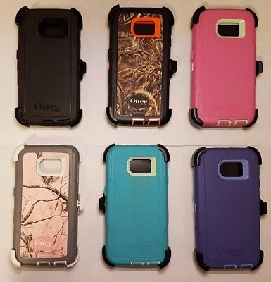 OtterBox Defender Series Case For Galaxy S6 with belt clip holster colors