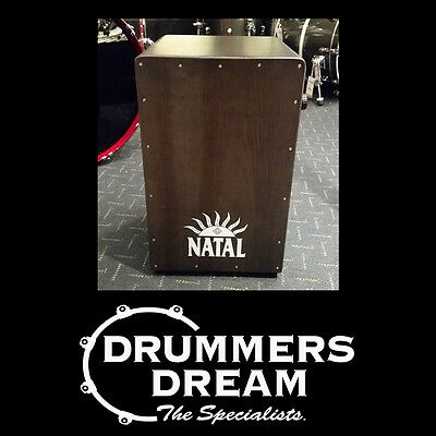 Natal Pro Black Cajon with Black Panel All Birch Body RRP $299