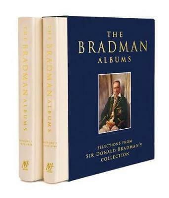 NEW The Bradman Albums By Donald Bradman Hardcover Free Shipping