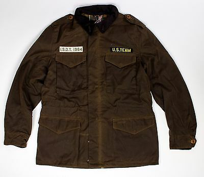 BRAND NEW-Barbour Steve McQueen Thunder Waxed Jacket Brown -M-*RARE*MSRP$449