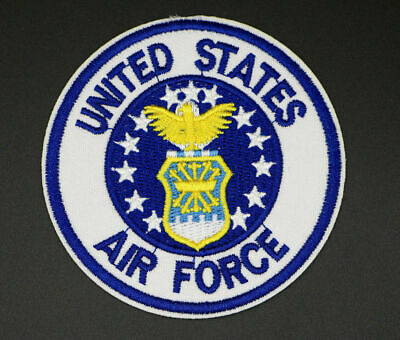 Military Aircraft Usaf Logo Large Sticker 12 Inch Diameter Bright United States Air Force