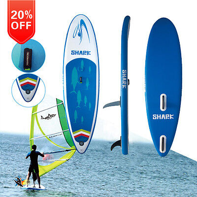 "Shark SUPs 11'*32""  iSUP Windsurf board      20% off !!!"