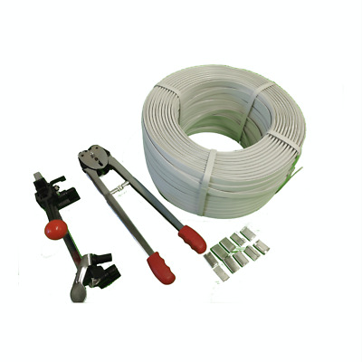 NEW 4 in 1 Approx 550m Strapping Packing Machine Set Kit