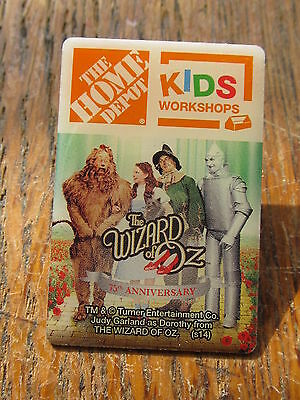 New Home Depot kids workshop the wizard of oz  Lapel Pin