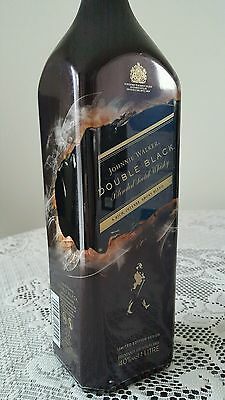 Johnnie Walker Scotch Whisky Double Black Shadow! Limited Edition! 1L!