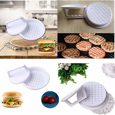 Hamburger Beef Veggie Burger Quarter Pounder Patty Maker Mould Press Barbecue
