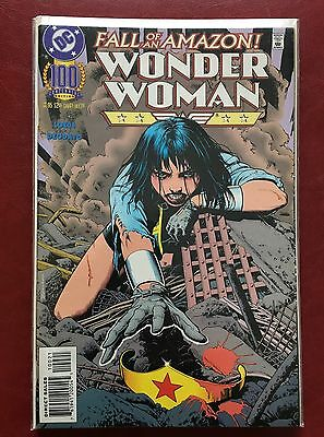 Wonder Woman #100 (1987 Series Dc) Nm Bolland Cover Deodato Art, New Movie Hot