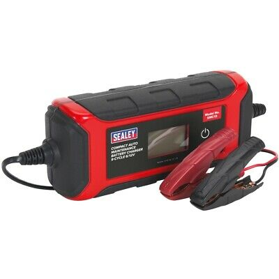 Sealey Battery Charger Compact Auto Maintenance - 9-Cycle 6/12V - SMC13