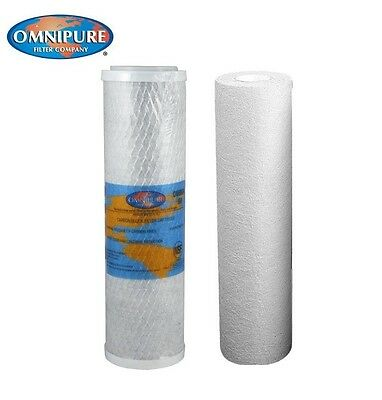 Replacement Filters for   Omnifilter  OT32 SYSTEM - CARBON +SEDIMENT