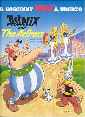 Asterix And The Actress By Albert Uderzo (text and illustration .9780752846576