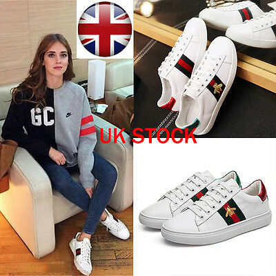 Fast Womens Casual Sneakers Sports Athletic Leisure Running Flat Trainers Shoes