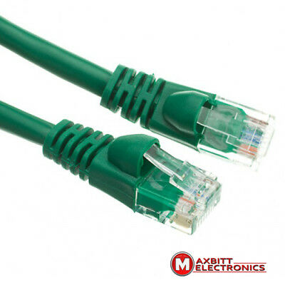 10m Green Cat.5e Patch U/UTP Cable Internet Connection Cord Wire