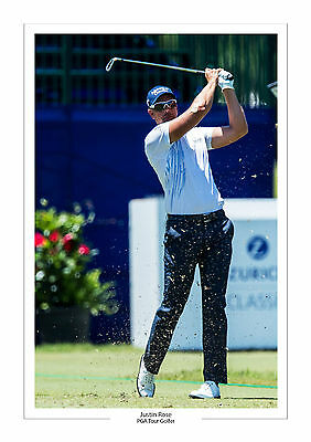 Justin Rose  A4 Print Photo Golf Pga Tour