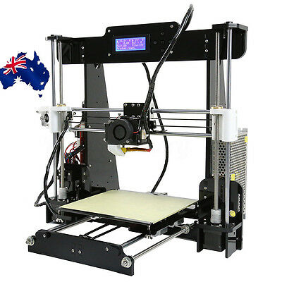 AU Anet A8 3D Printer DIY Kit 1.75mm / 0.4mm Support ABS / PLA / HIPS HOT
