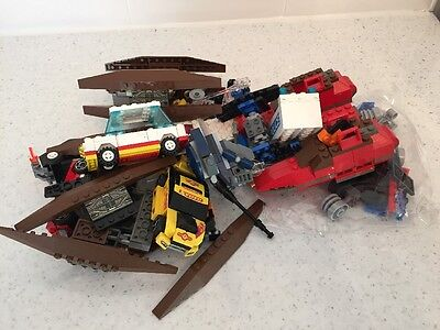 Lego Mixed Lot Star Wars, Racers Cars
