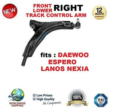 FOR DAEWOO ESPERO LANOS NEXIA FRONT AXLE LOWER RIGHT TRACK CONTROL ARM w/o BUSH