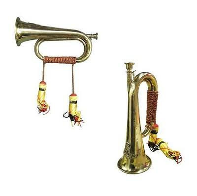 Brass Military Bugle Horn Marching Band