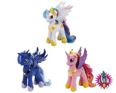 Ty Beanie  My Little Pony Plush Soft Toy Princess Cadance Celestia Luna