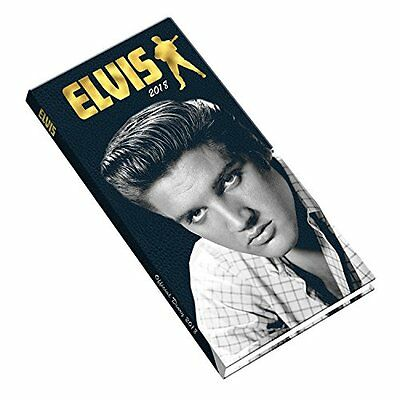 Elvis Official 2018 Diary - Week to View Slim Pocket Format NEW