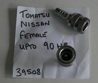 Fuel Connector w// Nut 345702601M Male Engine for Tohatsu Nissan Outboard Engine