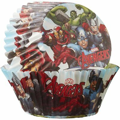 The Avengers Cup Cake/Muffin Cases (50 cases)