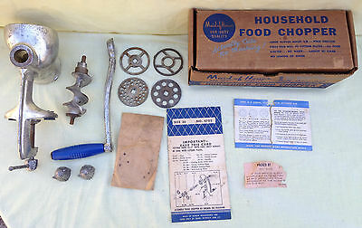 Vintage Sears Maid of Honor Household Food Chopper No. 4702 Size 35
