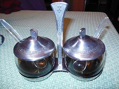 1969 Vintage Jelly Compotes for Table