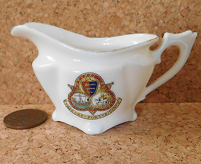Crested china DOVER town coat of arms ville et portus FAIRY WARE cinque port