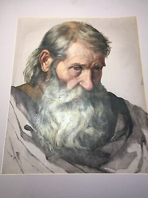 Antique 19th Century Masters Style Oil on Canvas After the Renaissance