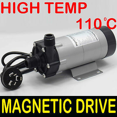 809 FOOD GRADE MAGNETIC Drive Polysulfone PUMP, Beer Brewing Mashing Wort March