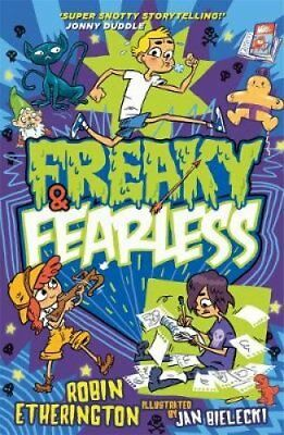 Freaky and Fearless: How to Tell a Tall Tale by Robin Etherington 9781848125100