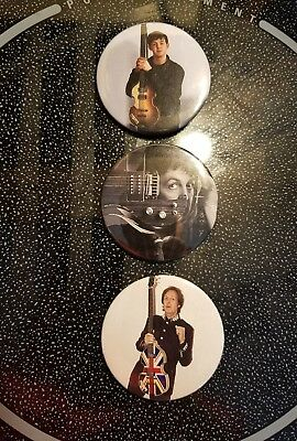 Beatles Paul Mccartney Badges Pins Buttons