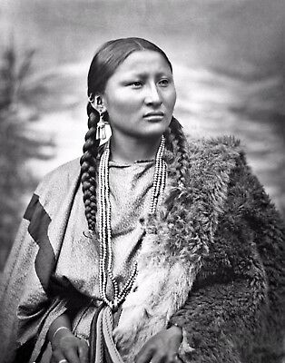 Woman War Chief Pretty Nose Participated Battle of Little Big Horn-11x14 Photo