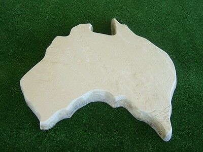 Australia Map Stepping Stone Mould Mold Concrete Cement Paver