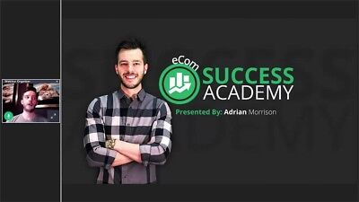 Adrian Morrison - Ecom Success Academy | Dropshipping Mastery Course Shopify Tai