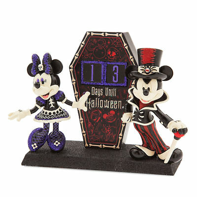 DISNEY Parks HALLOWEEN 2017 COUNTDOWN Calendar MICKEY & MINNIE New