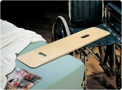 Bariatric Transfer Board for Wheelchair Users, Wooden Slide Board with Handles