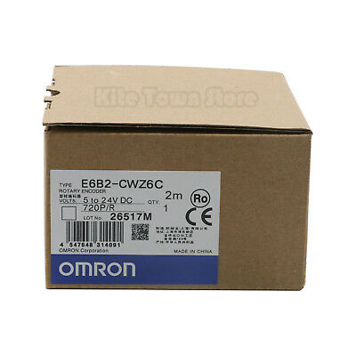 OMRON ROTARY ENCODER E6B2-CWZ6C 720P/R NEW IN BOX One year warranty