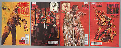 Empire of The Dead ACT TWO comics lot set # 2 3 4 5 Marvel George A Romero