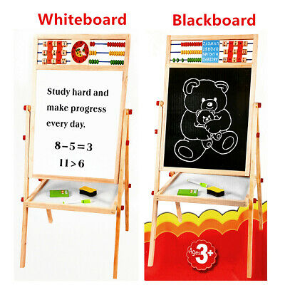 NEW Kid Pretend Play Toy Large Wooden Storage Kitchen Sink 40x30x53cm