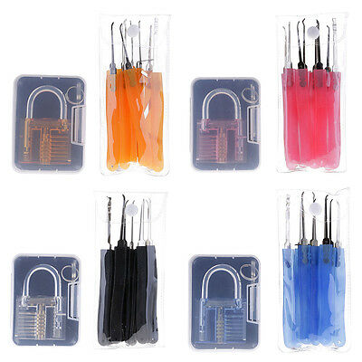 Transparent Lock Practical Unlocking Tools Extract Extractor Remover Tools Set