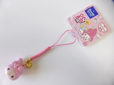 NEW!! KAWAII Sanrio My Melody Mascot Strap with a Bell FREE SHIPPING