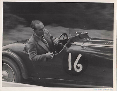 CAR No.16 RACING STAMPED DATE 17 JUL 1949 PHOTOGRAPH, BY GUY GRIFFITHS.