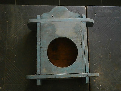 Antique Vintage Wooden Box For Clock Watch For Wall