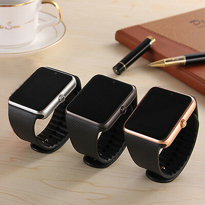 Popular Waterproof Bluetooth Smart Watch SIM Phone Mate For IOS Samsung Android